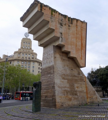 Memorial to Francesc Macia
