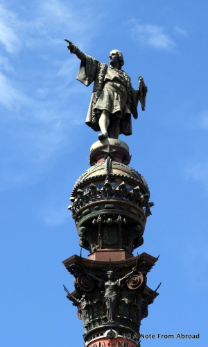 Top of the Columbus Monument