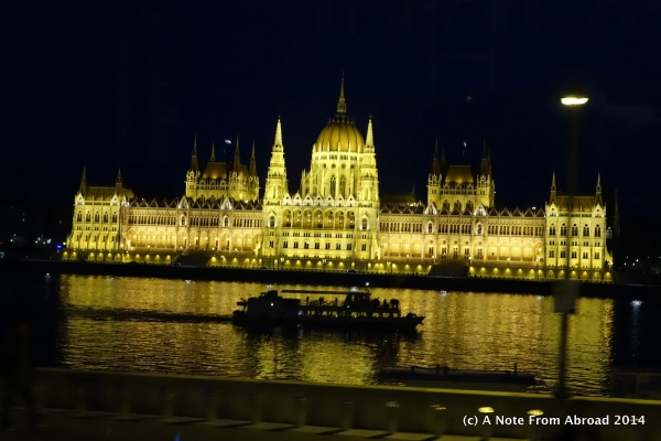 Parliament Building at night