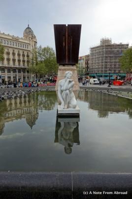 Plaza de Catalunya, Francesc Macià Memorial
