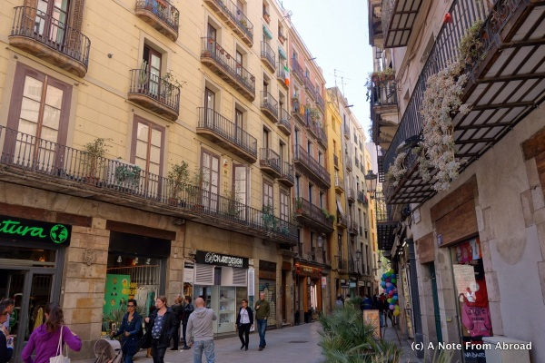 It is easy to get lost in Barcelona (but fun at the same time)