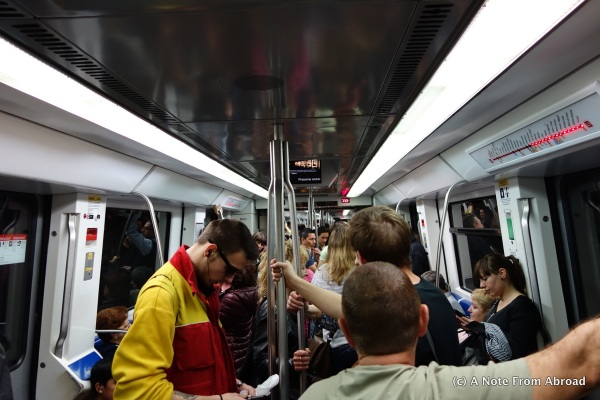 On the Metro