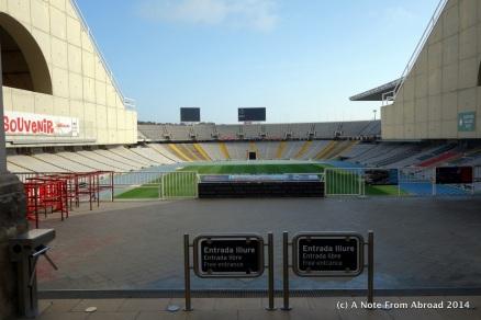 Olympic stadium summer 1992