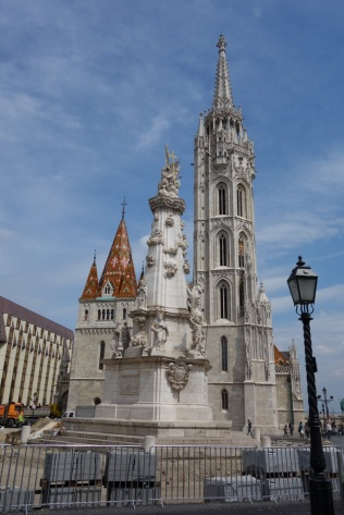 Matthias Church on Castle Hill