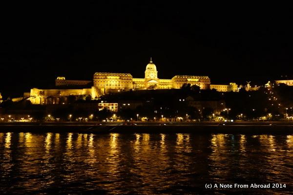 Sail away - Budapest at night