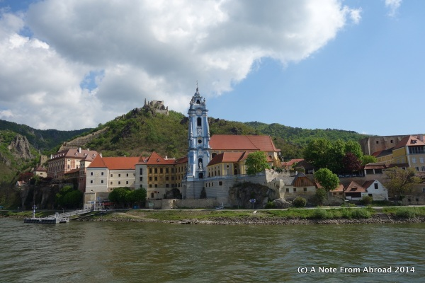 Dürnstein from the water side