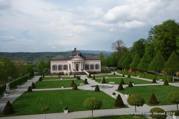 Gardens at Melk Abbey