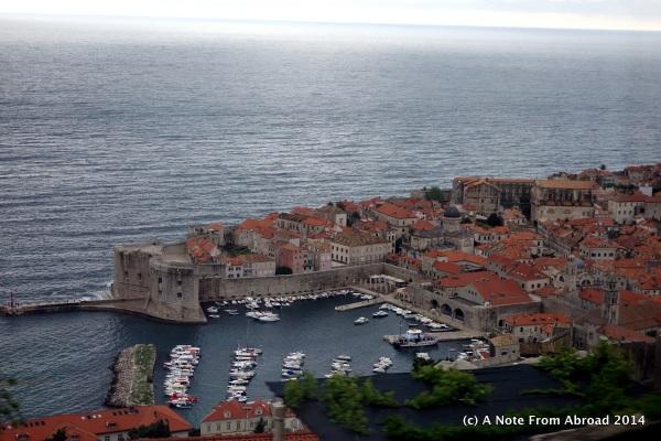 Old harbor in Dubrovnik