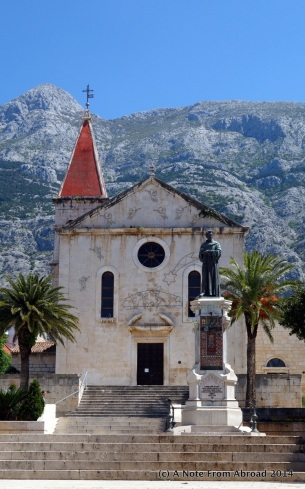 Old town in Makarska