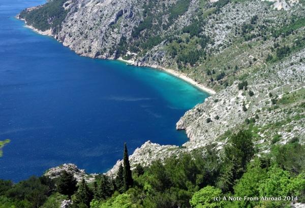 Dalmatian coastline, Adriatic Sea