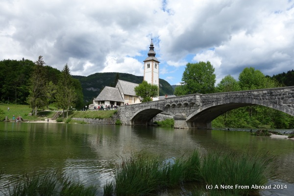 Church and bridge