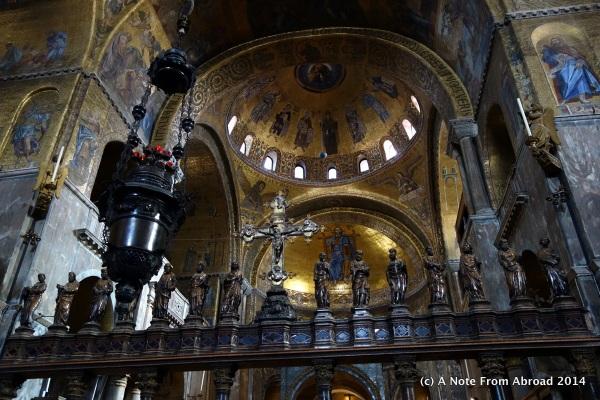 Inside St. Mark's
