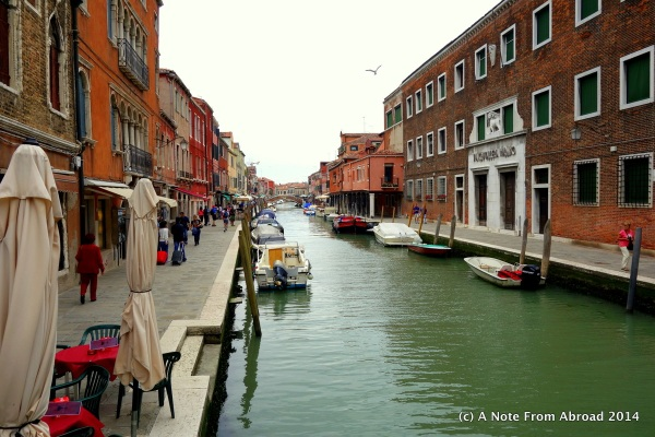 Canals of Murano