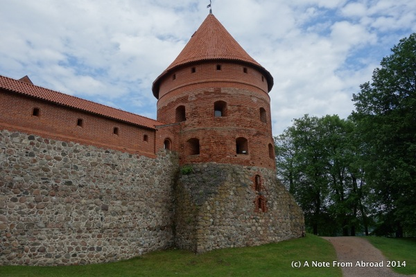 Castle walls and tower