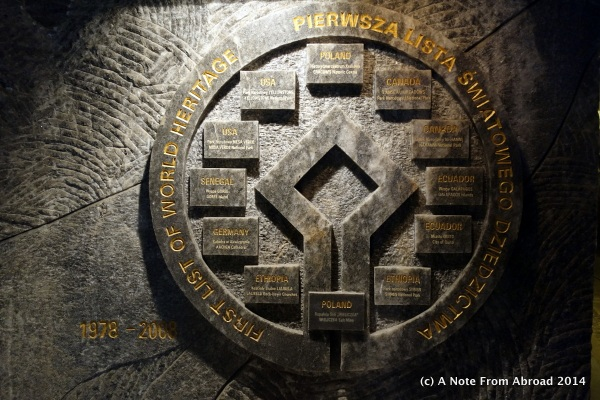 On the original UNESCO World Heritage List - 1978