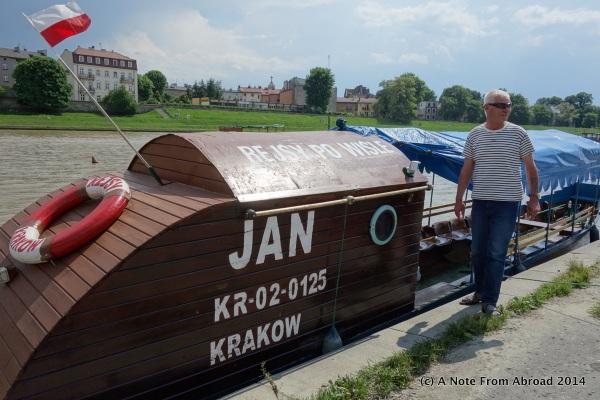 Jan (pronounced John) and his river tram