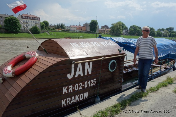 Jan (pronounced John) and his river tram