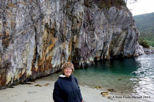 Touching the Norwegian Sea