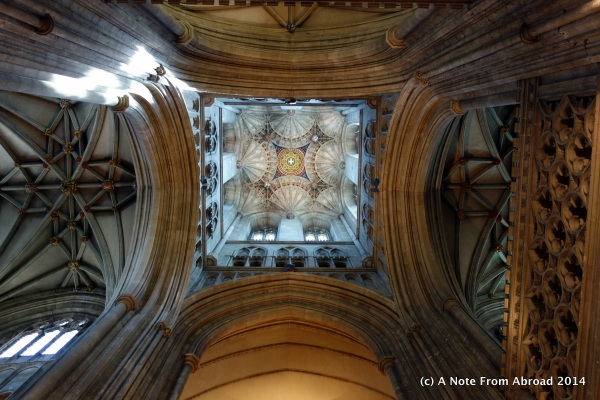 Ceiling of Canterbury Cathedral