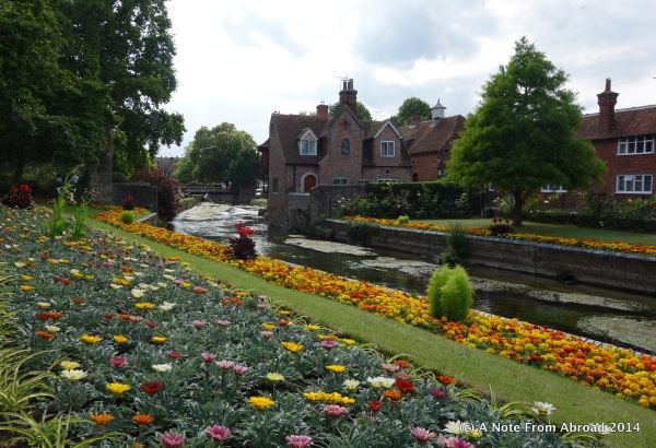 Westgate Gardens along the Stour River ~ Canterbury, England