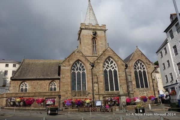 St. Peter Port church
