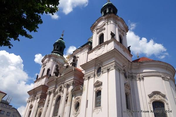 Church on main square