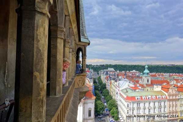 In the clock tower ~ Prague, Czech Republic