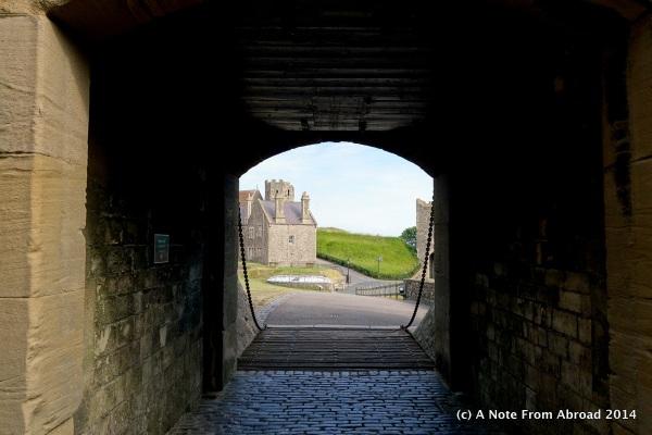 One of several gates that had a drawbridge