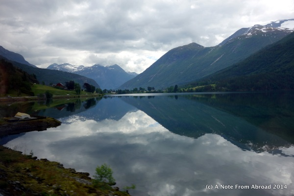 Deepest lake in Norway