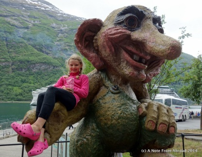 Troll statues are all over Norway