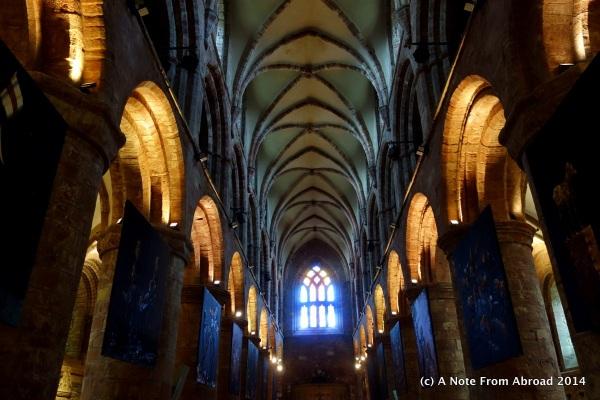 Inside St Magnus Cathedral