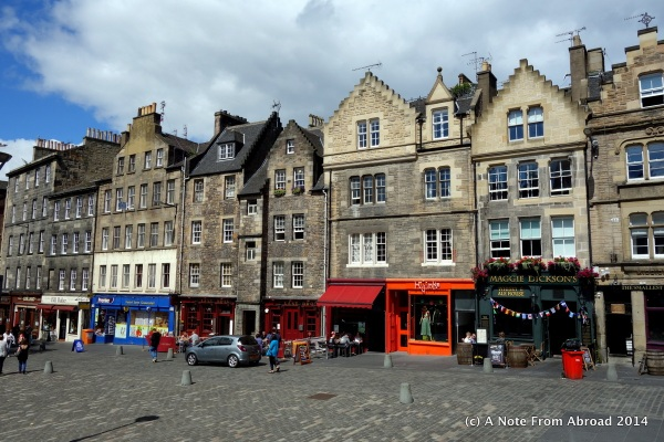 Along the Royal Mile