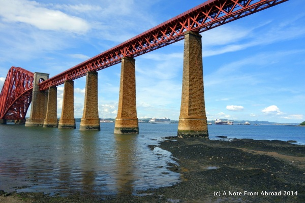 Forth Train Bridge at Queensferry - taken at Hawes Pier