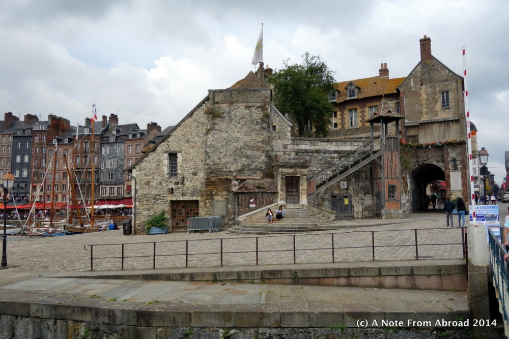 France ~ Le Havre, Honfleur, Vieux Bassin, Lieutenance, St. Catherine's Church, and a bucket of mussels (2/6)