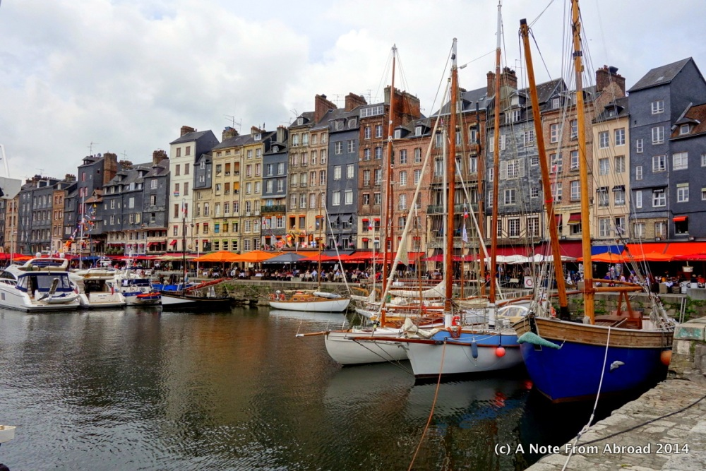 France ~ Le Havre, Honfleur, Vieux Bassin, Lieutenance, St. Catherine's Church, and a bucket of mussels (1/6)
