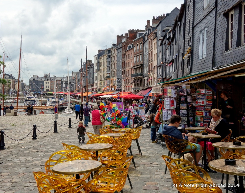 France ~ Le Havre, Honfleur, Vieux Bassin, Lieutenance, St. Catherine's Church, and a bucket of mussels (4/6)