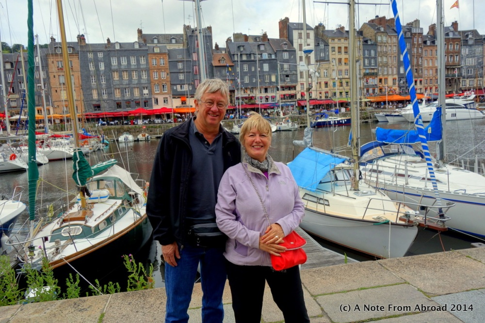 France ~ Le Havre, Honfleur, Vieux Bassin, Lieutenance, St. Catherine's Church, and a bucket of mussels (3/6)