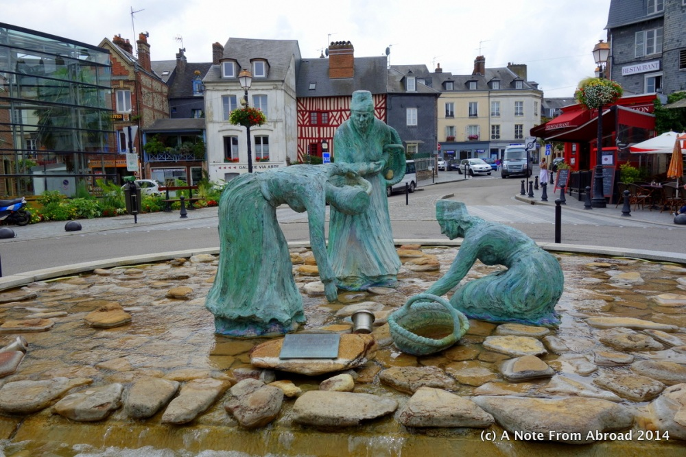 France ~ Le Havre, Honfleur, Vieux Bassin, Lieutenance, St. Catherine's Church, and a bucket of mussels (6/6)