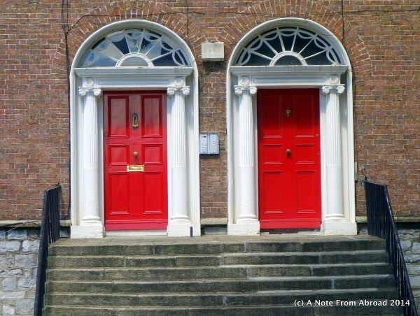 Paired doors