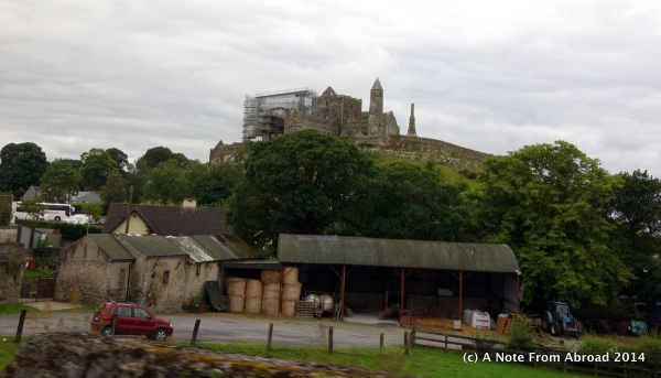 Rock of Cashel sits high above the town