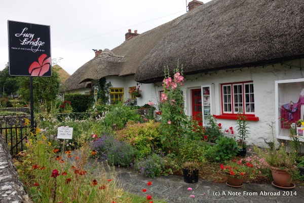 Thatched house in Adare