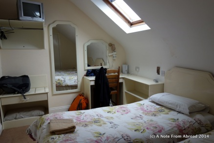Our overnight quarters in Killarney, Kings Court
