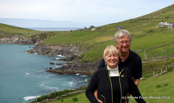 Tim and Joanne at Dingle Peninsula