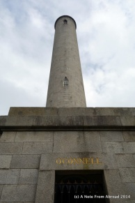 Daniel O'Connell Monument is the largest tower and the center piece of the cemetery