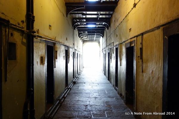Inside Kilmainham Gaol (Jail)