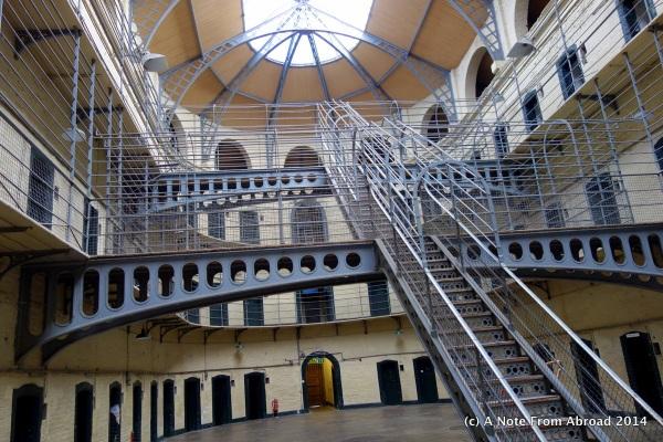 Victorian Wing (aka East Wing) of Kilmainham Gaol
