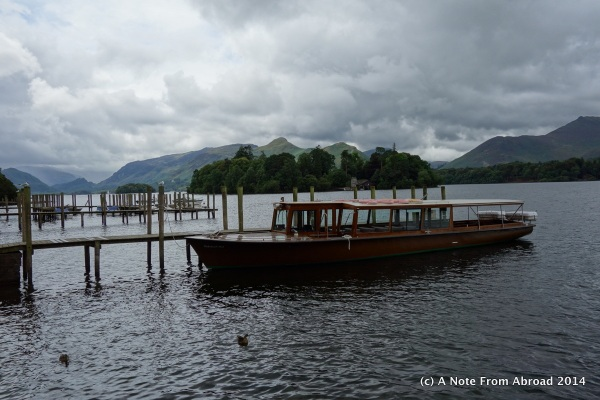 50 minute tours of the lake are on this style of boat