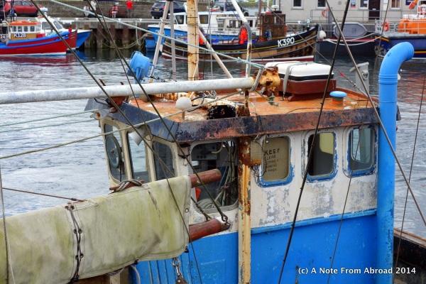A still sea-worthy fishing boat