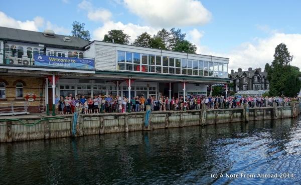 Lakeside pier