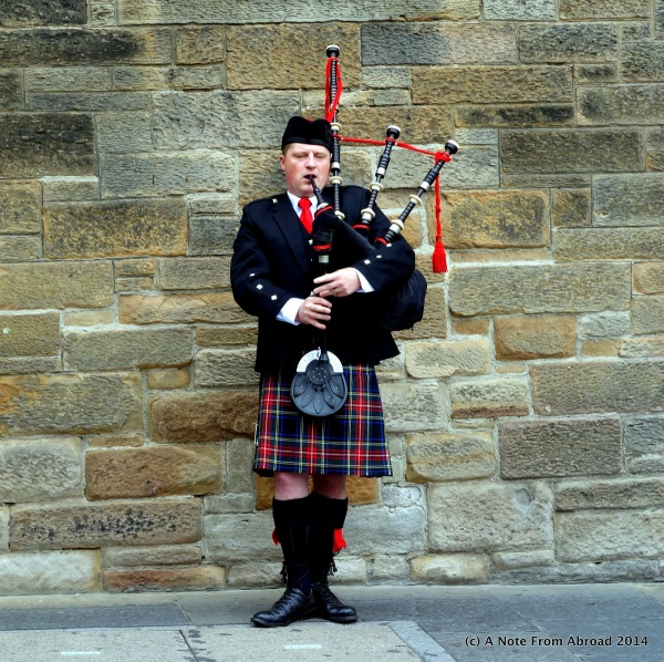 Bagpipes anyone?